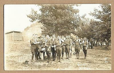 WWI~Company H, 8th Army Regiment~US Soldiers Wash Up Time~This Clarence?~RPPC~n