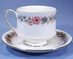 "Paragon ""Belinda"" Cup and Saucer sold as singles, but 5 available"