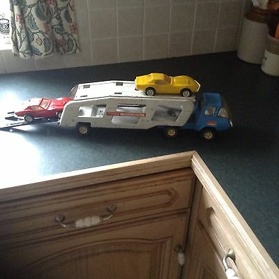 Tonka Car Transporter Toy Complete With 2 Cars