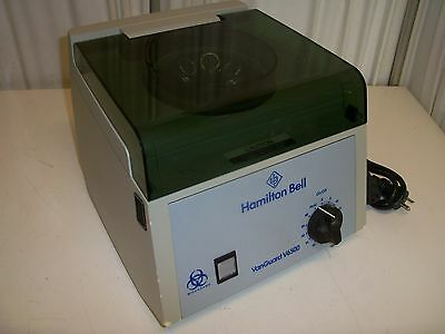 Hamilton Bell VanGuard V6500 Table Top Lab Centrifuge with rotor