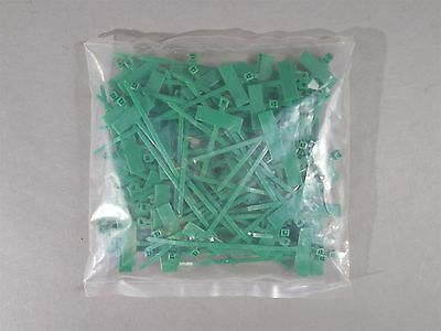 Panduit PLF1MB Green Nylon 4 inch Marker Tie