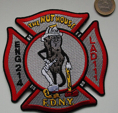 Patch - FDNY - E-214/Ladder-111