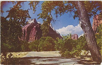 Zion National Park, Utah. Kodachrome Reproduction Mike Roberts. Vintage Postcard