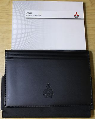 Mitsubishi Asx Handbook Owners Manual Wallet 2012-2015 Pack 6593