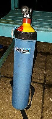 3 Litre Faber Steel SCUBA Pony Cylinder with pouch
