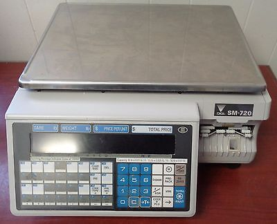 Digi SM-720 Type EB Grocery Retail Deli Scale TESTED WORKING