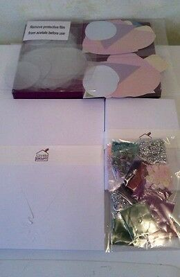 Create & Craft Shaker Card Kit - 20 Die Cut Shaped Cards/envelopes & Decorations