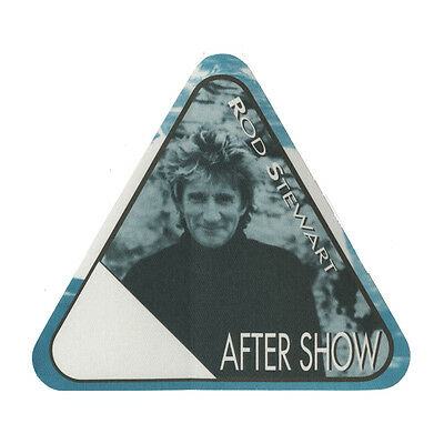 Rod Stewart authentic Aftershow 2001 tour Backstage Pass