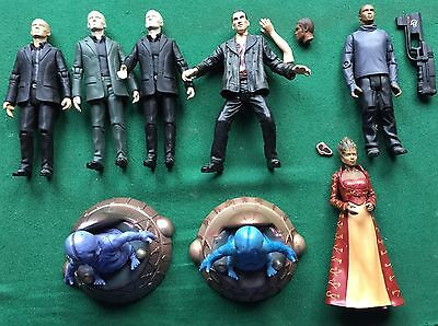 """Bundle of Doctor Who Character Options 5"""" Figures from Series One Job Lot"""
