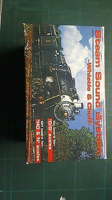 Chicago Model Inter Steam Chuff & Whistle AC/DC Train sound O/G Scale Ho/N scale