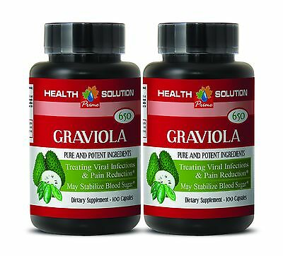 tropical fruit - GRAVIOLA Leaf Extract 650 Mg - balances functioning of heart -2
