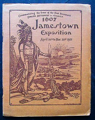 1907 Jamestown Va Exposition Pre Opening Booklet