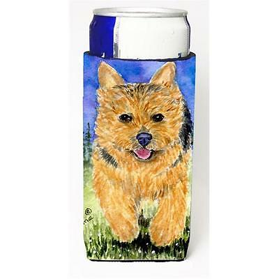 Carolines Treasures Norwich Terrier Michelob Ultra bottle sleeve for Slim Can