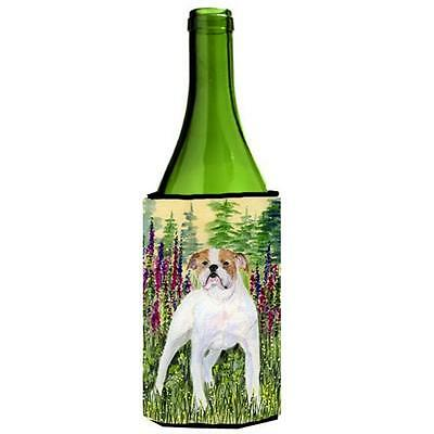 Carolines Treasures English Bulldog Wine bottle sleeve Hugger 24 oz.