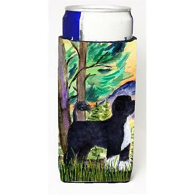 Portuguese Water Dog Michelob Ultra bottle sleeves for slim cans 12 oz.