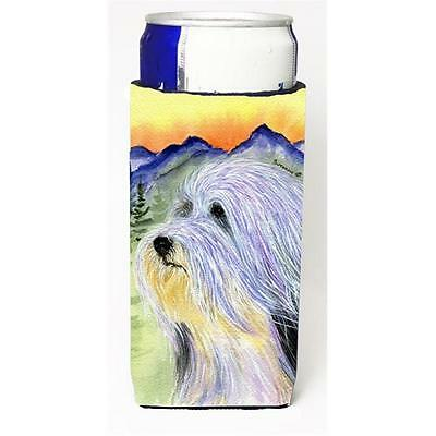 Bearded Collie Michelob Ultra bottle sleeves for slim cans 12 oz.