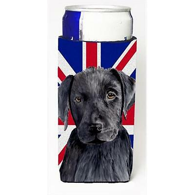 Labrador With English Union Jack British Flag Michelob Ultra bottle sleeves F...
