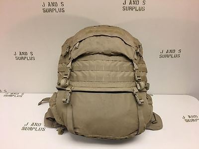 USMC USGI FILBE Pack / Rucksack System You Assemble with FREE TAN MOLLE FRAME