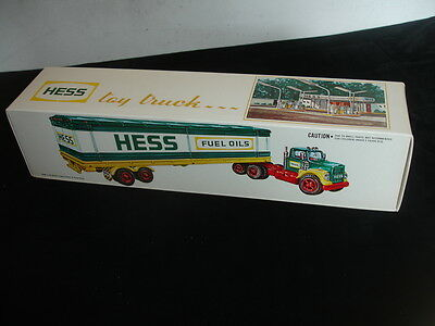 1975 Hess Truck - Mint in Original Box