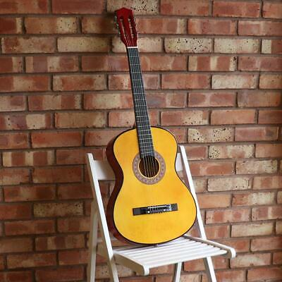 New Acoustic Guitar Starter Package Pack Outfit Full Size Beginner Adult Student