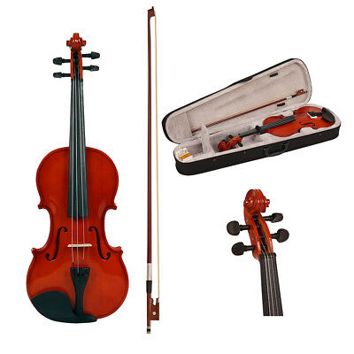 Wido NEW FULL SIZE 4/4 ACOUSTIC VIOLIN SET WITH CASE BOW & ROSIN BEGINNERS LEARN