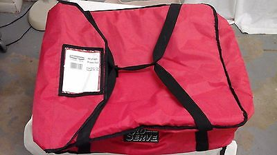 NEW Rubbermaid Commercial Products Pro Serve Pizza Delivery Bag Red 9F37-00