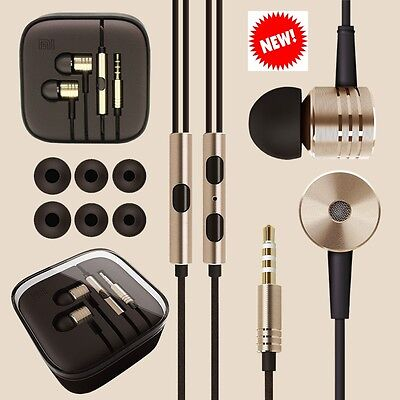100 x Joblot Metal In Ear Headphones/ Earphones With Mic + Remote For Sports MP3