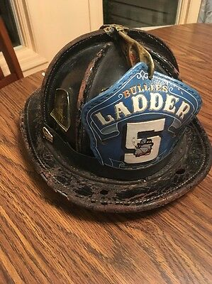 Providence Cairns Leather Fire Helmet