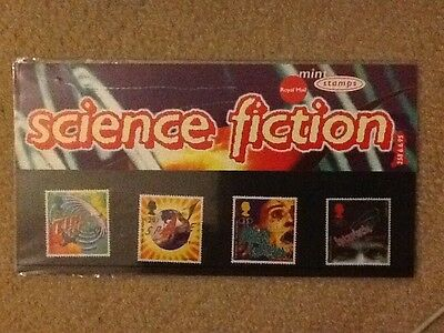 Royal Mail Science Fiction stamp set, 1995. Pack no. 258