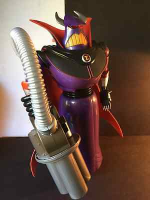 """Disney Pixar Toy Story Talking Emperor Zurg 15"""" Tall Lights and Sounds Loose"""