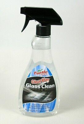 Turtle Wax Clearvue Glass Cleaner 500ml Windscreen Removes Film Insects & Dirt