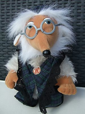 "Wombles UNCLE BULGARIA Soft Plush Toy by First Love 10"" - Vintage"