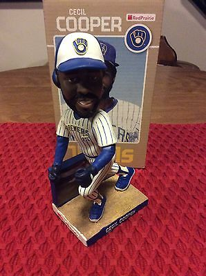 2010 Milwaukee Brewers Cecil Cooper Bobblehead!!!