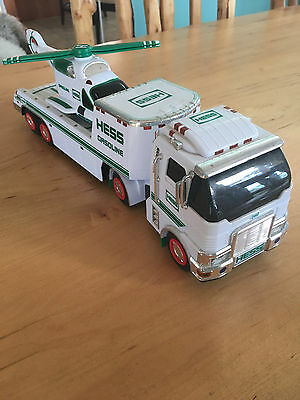 Hess 2006 Tractor Trailer Toy Truck w/Helicopter