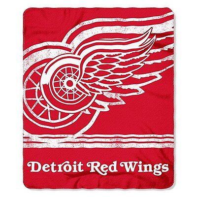 Detroit Red Wings Fleece Throw Blanket