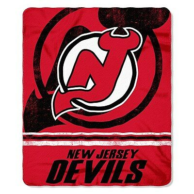 New Jersey Devils Fleece Throw Blanket