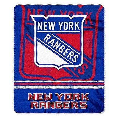 New York Rangers Fleece Throw Blanket