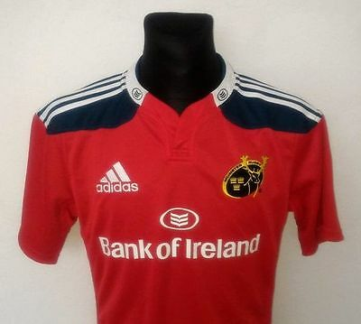 Munster Rugby Adidas 2015 Jersey Shirts Perfect Size M