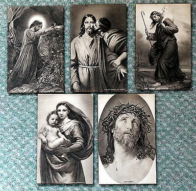 Postcards – Panel Cards of Religious Subjects – (Se1)