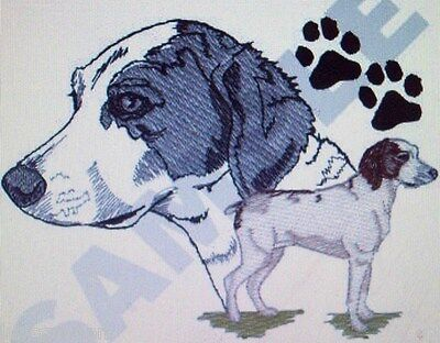 Brittany Spaniel  Dog Breed SET 2 HAND TOWELS EMBROIDERED