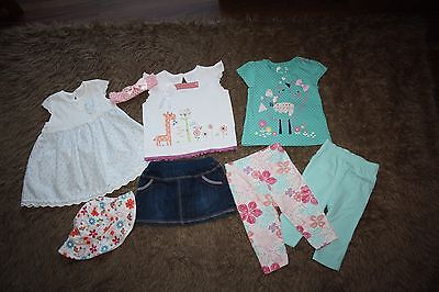 Bundle Of Baby Girls Summer Clothes Age: 3-6 Months