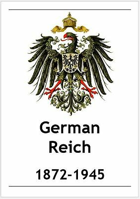 [VB003] GERMAN REICH Digital Stamp Album (64 pages) with Info-Pages