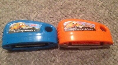 Learning Adventure Rumble Action Fisher Price Smart Cycle Game Cartridges