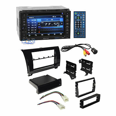 JVC Radio Double Din Bluetooth Dash Kit Harness For 07-13 Toyota Tundra Sequoia Auto Parts & Accessories