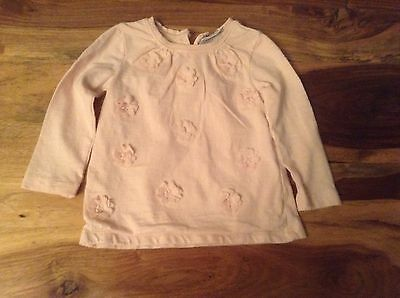 Next Signature Pink Top Age 9-12 Months