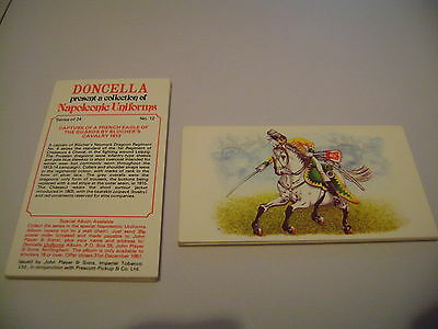 Doncella Napoleonic Uniforms Full Set By John Player & Sons