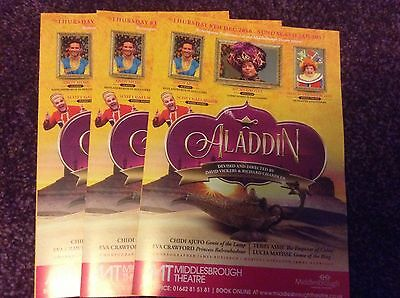 Pantomime Flyers 2016/17 X 3 - Middlesbrough Little Theatre