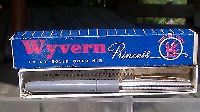 Vintage Wyvern Princess Fountain Pen, exceptional Restored