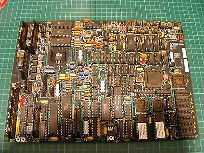 LARGE AMD N80C186 CPU Board 85 IC's In Sockets - ALL IC's LISTED