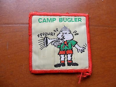 Camp Bugler Australian Scout Cloth Badge ^